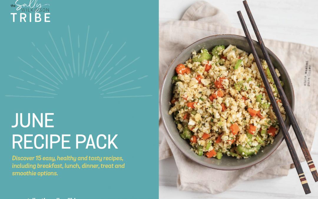 June 2021 Recipe Pack