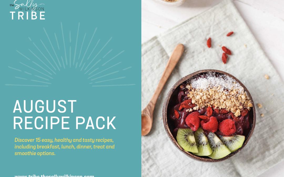 August 2021 Recipe Pack